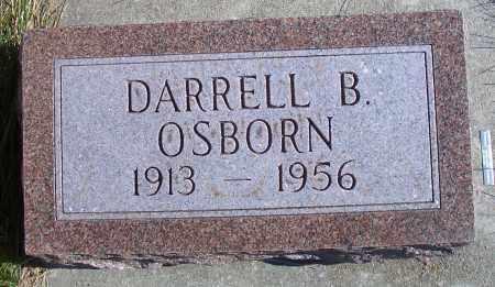 OSBORN, DARRELL B - Madison County, Nebraska   DARRELL B OSBORN - Nebraska Gravestone Photos