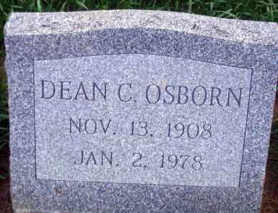 OSBORN, DEAN C. - Madison County, Nebraska | DEAN C. OSBORN - Nebraska Gravestone Photos