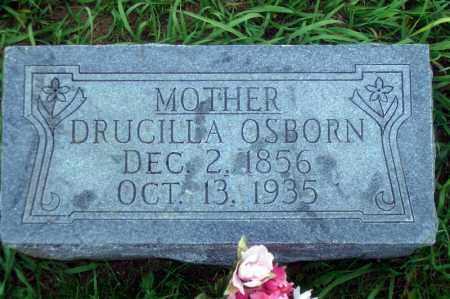 OSBORN, DRUCILLA - Madison County, Nebraska | DRUCILLA OSBORN - Nebraska Gravestone Photos