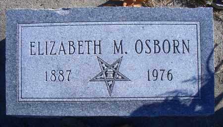 OSBORN, ELIZABETH M - Madison County, Nebraska | ELIZABETH M OSBORN - Nebraska Gravestone Photos