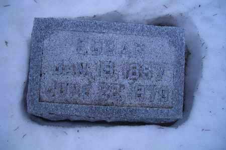 OSBORN, EDGAR - Madison County, Nebraska   EDGAR OSBORN - Nebraska Gravestone Photos
