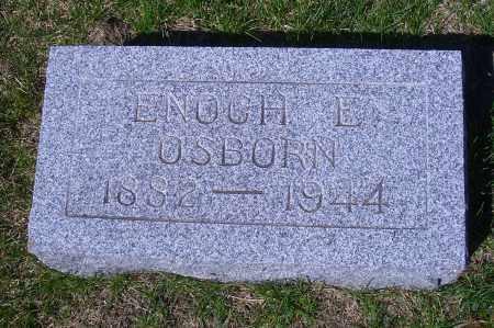 OSBORN, ENOCH E - Madison County, Nebraska | ENOCH E OSBORN - Nebraska Gravestone Photos
