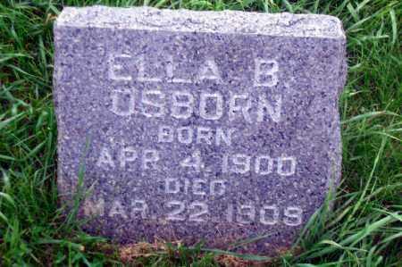 OSBORN, ELLA B. - Madison County, Nebraska | ELLA B. OSBORN - Nebraska Gravestone Photos