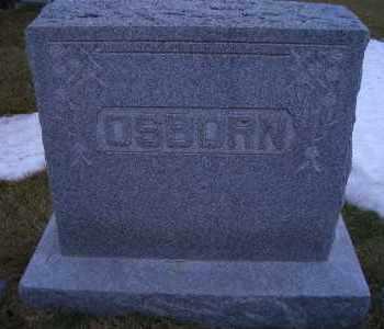 OSBORN, FAMILY HEADSTONE - Madison County, Nebraska | FAMILY HEADSTONE OSBORN - Nebraska Gravestone Photos