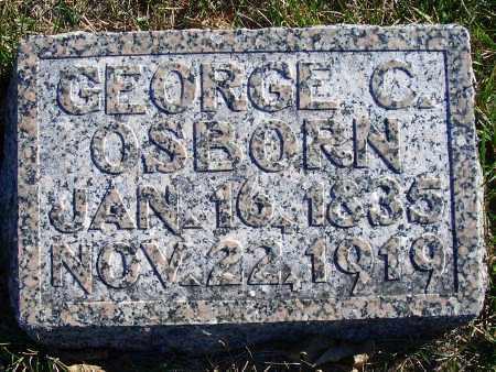 OSBORN, GEORGE C - Madison County, Nebraska | GEORGE C OSBORN - Nebraska Gravestone Photos