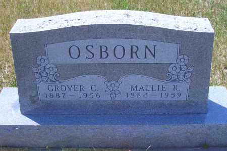 OSBORN, GROVER C - Madison County, Nebraska | GROVER C OSBORN - Nebraska Gravestone Photos