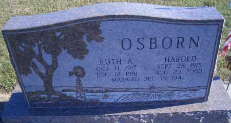OSBORN, HAROLD - Madison County, Nebraska | HAROLD OSBORN - Nebraska Gravestone Photos