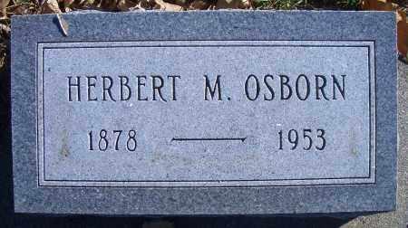 OSBORN, HERBERT M - Madison County, Nebraska   HERBERT M OSBORN - Nebraska Gravestone Photos
