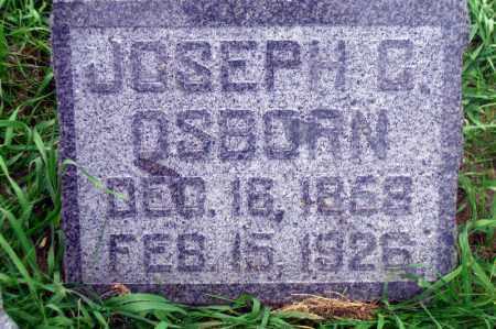 OSBORN, JOSEPH C. - Madison County, Nebraska | JOSEPH C. OSBORN - Nebraska Gravestone Photos