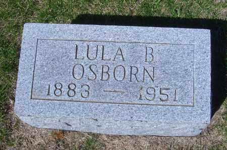 OSBORN, LULA B - Madison County, Nebraska | LULA B OSBORN - Nebraska Gravestone Photos