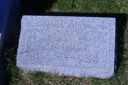 OSBORN, MARY A - Madison County, Nebraska | MARY A OSBORN - Nebraska Gravestone Photos