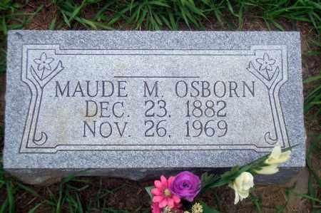 OSBORN, MAUDE M. - Madison County, Nebraska   MAUDE M. OSBORN - Nebraska Gravestone Photos