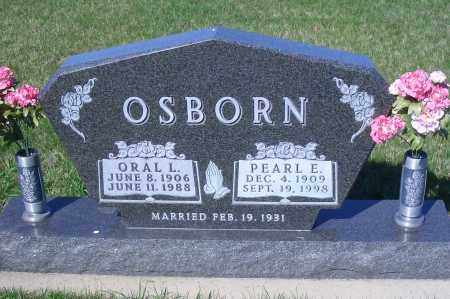 OSBORN, ORAL L - Madison County, Nebraska | ORAL L OSBORN - Nebraska Gravestone Photos