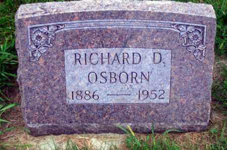 OSBORN, RICHARD D. - Madison County, Nebraska | RICHARD D. OSBORN - Nebraska Gravestone Photos