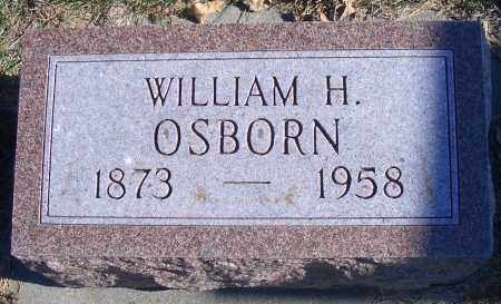 OSBORN, WILLIAM H - Madison County, Nebraska | WILLIAM H OSBORN - Nebraska Gravestone Photos