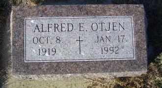 OTJEN, ALFRED E. - Madison County, Nebraska | ALFRED E. OTJEN - Nebraska Gravestone Photos