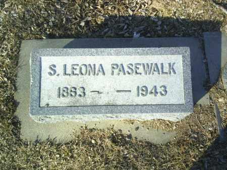 PASEWALK, S. LEONA - Madison County, Nebraska | S. LEONA PASEWALK - Nebraska Gravestone Photos