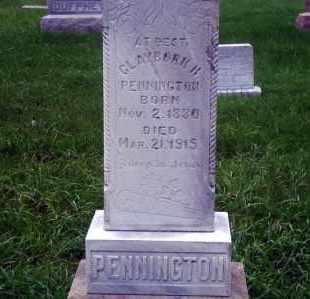 PENTINGTON, CLAYBORN H. - Madison County, Nebraska | CLAYBORN H. PENTINGTON - Nebraska Gravestone Photos