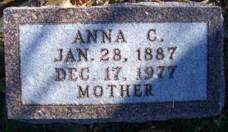 PETERSEN, ANNA C - Madison County, Nebraska | ANNA C PETERSEN - Nebraska Gravestone Photos