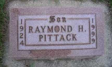 PITTACK, RAYMOND H - Madison County, Nebraska | RAYMOND H PITTACK - Nebraska Gravestone Photos