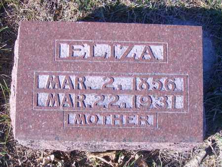 FINK POTTS, ELZIA - Madison County, Nebraska   ELZIA FINK POTTS - Nebraska Gravestone Photos