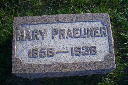 PRAEUNER, MARY - Madison County, Nebraska | MARY PRAEUNER - Nebraska Gravestone Photos