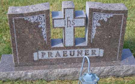 PRAUENER, FAMILY HEADSTONE - Madison County, Nebraska | FAMILY HEADSTONE PRAUENER - Nebraska Gravestone Photos