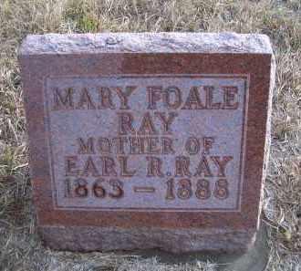 RAY, MARY - Madison County, Nebraska | MARY RAY - Nebraska Gravestone Photos