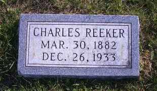 REEKER, CHARLES - Madison County, Nebraska | CHARLES REEKER - Nebraska Gravestone Photos