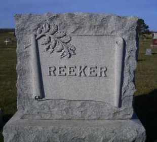 REEKER, FAMILY HEADSTONE - Madison County, Nebraska | FAMILY HEADSTONE REEKER - Nebraska Gravestone Photos