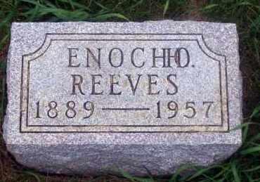 REEVES, ENOCH O. - Madison County, Nebraska | ENOCH O. REEVES - Nebraska Gravestone Photos