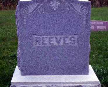 REEVES, FAMILY HEADSTONE - Madison County, Nebraska   FAMILY HEADSTONE REEVES - Nebraska Gravestone Photos