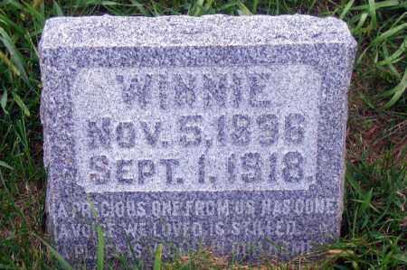 REEVES, WINNIE - Madison County, Nebraska   WINNIE REEVES - Nebraska Gravestone Photos