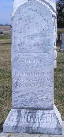 RETHWISCH, CARL P F - Madison County, Nebraska | CARL P F RETHWISCH - Nebraska Gravestone Photos