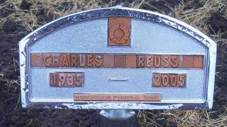 REUSS, CHARLES - Madison County, Nebraska | CHARLES REUSS - Nebraska Gravestone Photos