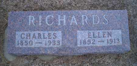 RICHARDS, ELLEN - Madison County, Nebraska | ELLEN RICHARDS - Nebraska Gravestone Photos