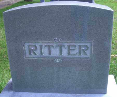 RITTER, FAMILY HEADSTONE - Madison County, Nebraska | FAMILY HEADSTONE RITTER - Nebraska Gravestone Photos