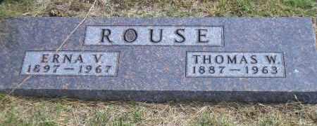 ROUSE, THOMAS W. - Madison County, Nebraska | THOMAS W. ROUSE - Nebraska Gravestone Photos