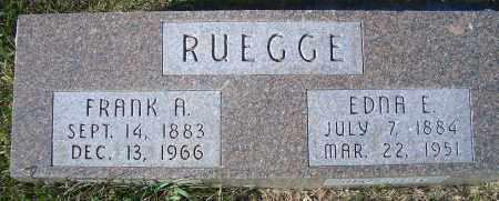 SMITH RUEGGE, EDNA E - Madison County, Nebraska | EDNA E SMITH RUEGGE - Nebraska Gravestone Photos