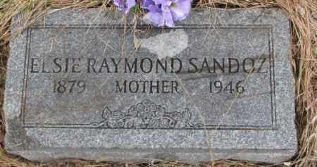 SANDOZ, ELSIE - Madison County, Nebraska | ELSIE SANDOZ - Nebraska Gravestone Photos