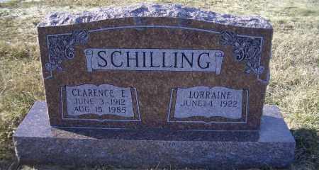 SCHILLING, CLARENCE E. - Madison County, Nebraska | CLARENCE E. SCHILLING - Nebraska Gravestone Photos