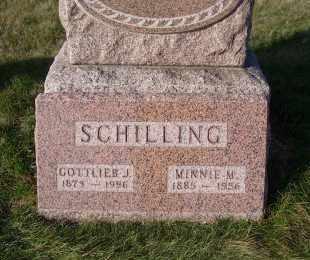 RUDAT SCHILLING, MINNIE M. - Madison County, Nebraska | MINNIE M. RUDAT SCHILLING - Nebraska Gravestone Photos