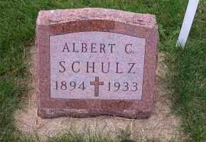 SCHULZ, ALBERT C. - Madison County, Nebraska   ALBERT C. SCHULZ - Nebraska Gravestone Photos