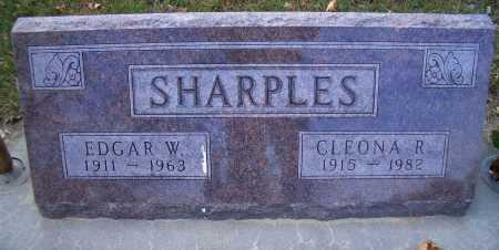 EYMANN SHARPLES, CLEONA R - Madison County, Nebraska | CLEONA R EYMANN SHARPLES - Nebraska Gravestone Photos