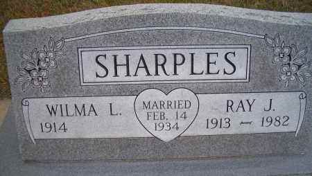 SHARPLES, RAY J - Madison County, Nebraska | RAY J SHARPLES - Nebraska Gravestone Photos
