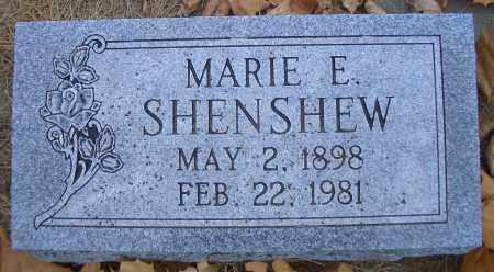 SHENSHEW, MARIE E - Madison County, Nebraska | MARIE E SHENSHEW - Nebraska Gravestone Photos