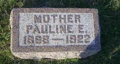 SHIPMAN, PAULINE E. - Madison County, Nebraska | PAULINE E. SHIPMAN - Nebraska Gravestone Photos