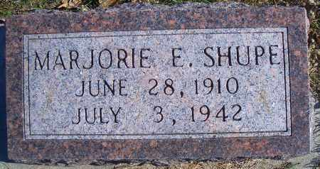 TAYLOR SHUPE, MARJORIE E - Madison County, Nebraska | MARJORIE E TAYLOR SHUPE - Nebraska Gravestone Photos