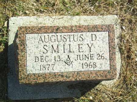 SMILEY, AUGUSTUS - Madison County, Nebraska | AUGUSTUS SMILEY - Nebraska Gravestone Photos