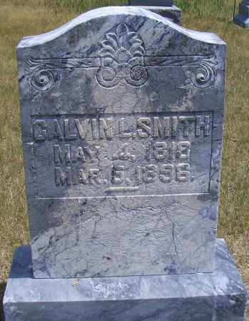 SMITH, CALVIN L. - Madison County, Nebraska | CALVIN L. SMITH - Nebraska Gravestone Photos
